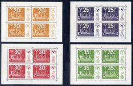 SWEDEN 1974 STOCKHOLMIA '74 Set Of 4 Blocks MNH / **.  Michel Blocks 2-5 - Sweden