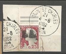 ALGERIE  N° 355 CACHET ORAN ST CHARLES  SUR FRAGMENT - Sin Clasificación