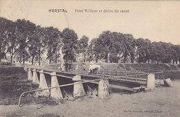 Herstal - Pont Willem Et Drève Du Canal (animation, Emile Dumont, 1913) - Herstal