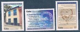 Cuba 2003  -  Yvert - 4066 / 68  MNH  ( ** ) - Unused Stamps