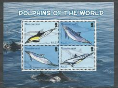 MONTSERRAT - MNH - Animals - Marine Mammals - Dolphins Of The World - Dolphins