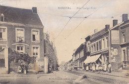 Herstal - Rue Large-Voie (animée, Emile Dumont, 1914) - Herstal