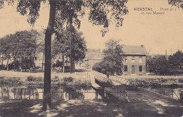 Herstal - Pont N°1 Et Rue Masset (E. Dumont, 1913) - Herstal