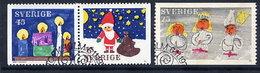 SWEDEN 1972 Christmas  Used.  Michel 776-78 - Sweden