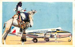 Aviation - Avions - Aéromaritime UAT - Illustrateurs - Illustrateur - Quadrimoteurs Heron De Havilland - état - 1946-....: Moderne