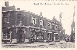 Herstal - Place Laixhaut - Chapelle Saint-Roch (animée, Librairie) - Herstal