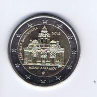 Grecia - 2 Euro Commemorativo Anno 2016 - Monastero Di Arkadi - Grecia