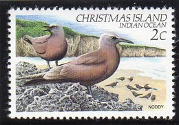 CHRISTMAS ISLAND - 1982 2c DEFINITIVE BIRD STAMP FINE MNH ** SG 153 - Christmas Island