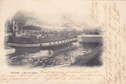 Herstal - Sur Le Canal (top Animation, Précurseur, 1902, Heintz-Jadoul) - Herstal