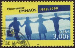 France Yv. N°3282 - Mouvement Emmaüs - Oblitéré - Frankreich