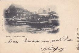 Herstal - Entrée Du Canal (top Animation, Précurseur, 1902, Heintz-Jadoul) - Herstal