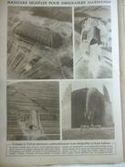 Hangars Modéles Pour Dirigeables Allemands , A Cologne Et Tréves 1919 - Historical Documents