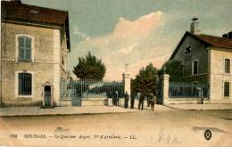 D18  BOURGES  Le Quartier Auger, 1er D' Artillerie   ..... - Bourges