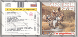 CD WESTERN MOVIES - THE MAGNIFICENT 7 - - Musicals
