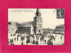 LE PORTEL, Près Boulogne-sur-Mer, Sortie De Messe, Reproduction, Animée - Evénements