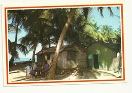 REPUBBLICA DOMENICANA--- CASITAS TIPICAS  VIAGGIATA  X LUGANO SIG. VALLI MORENO 1994 - Cartoline