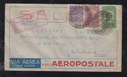Brazil Brasil 1932 Airmail Cover AEROPOSTALE RIO To PARIS France - Posta Aerea