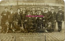 Carte Photo -classe 1915-les Livreurs De La Maison POTIN - Guerra, Militares