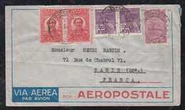Brazil Brasil 1934 Airmail Cover AEROPOSTALE RIO To PARIS France - Luftpost