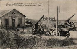 CPA - L'Ossuaire De Douaumont Et La Tombe Du Général Anselin - Douaumont