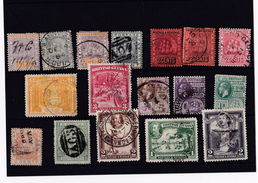 British Guiana Selection Of 17 X Early Stamps - 1p Start No Reserve - British Guiana (...-1966)