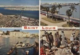 CPM - ST LOUIS - MULTIVUES - Edition A.D.P. Dakar / N°5335 - Senegal