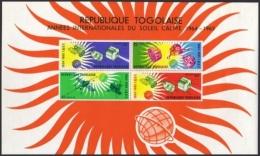 Togo, 1964, International Quiet Sun Year, Space, United Nations, MNH, Michel Block 17 - Togo (1960-...)