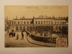 Carte Postale - ROUEN (76) - La Gare De La Rue Verte (1537/1000) - Rouen