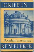 Potsdam - 1939 - Mit Drei Karten - 84 Seiten - Band 10 Der Griebens Reiseführer - Brandenburg