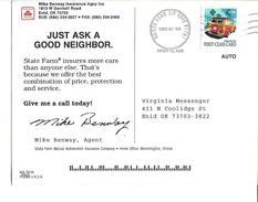 USA Postcard 2003 First Class Card Woody Wagon - Entiers Postaux