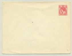 Nederland - 1908 - Envelop 5 Cent Wilhelmina Bontkraag, G14 Ongebruikt - Postwaardestukken