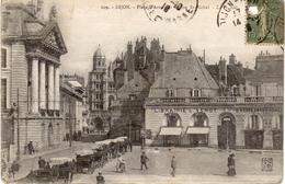 DIJON  -  Place D'Armes Et L'Eglise St Michel - Dijon