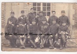 REIMS - 6 EME REGIMENT - CAVALIERS - SELLIER - POUR ST LOUP EN CHAMPAGNE - ARDENNES - CARTE PHOTO MILITAIRE - Regiments