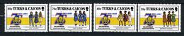 1985 - TURKS & CAICOS  - Catg. Mi. 772/775 - NH - (373908.14) - Turks E Caicos