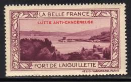 VIGNETTE NEUVE ** LA BELLE FRANCE - LUTTE ANTI-CANCEREUSE - FORT DE L AIGUILLETTE - Commemorative Labels