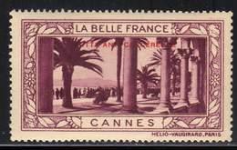 VIGNETTE NEUVE ** LA BELLE FRANCE - LUTTE ANTI-CANCEREUSE - CANNES - Commemorative Labels