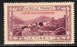 VIGNETTE NEUVE ** LA BELLE FRANCE - LUTTE ANTI-CANCEREUSE - LA TURBIE - Commemorative Labels