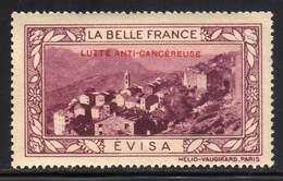 VIGNETTE NEUVE ** LA BELLE FRANCE - LUTTE ANTI-CANCEREUSE - EVISA - Commemorative Labels