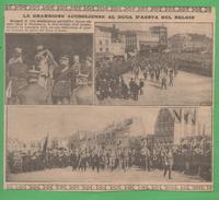Duca D'Aosta In Belgio 19231926 - Autres