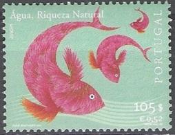 Portugal 2001 Michel 2503 Neuf ** Cote (2015) 2.00 Euro Europa CEPT L'eau Richesse Naturelle - 1910-... République