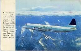 FLY TEAL  NEW ZEALAND's Internatonal Airline - 1946-....: Era Moderna