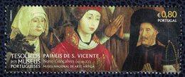 Portugal 2016 Sans Gomme Used Panels De Saint Vincent Musée National De L'Art Ancien - Nuovi