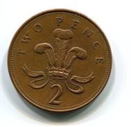 2002 Great Britain 2p Coin - 1971-… : Monnaies Décimales