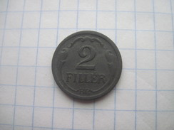 Hungary 2 Filler 1943 VF - Ungarn
