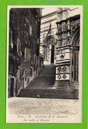 Siena - Scalinata Di S. Giovanni Che Mette Al Duomo - Formato Piccolo - Siena