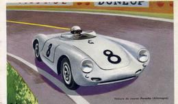 ILLUSTRATEUR ILL  540   / ?   R.A  PORSCHE  CPM / CPSM  9 X 14 - Sport Automobile