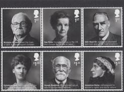 GB ~ 2016 ~ British Humanitarians ~ MNH - 1952-.... (Elisabetta II)