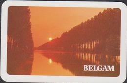 Joker Belga Belgam Sigaretten Cigarettes Damse Vaart Damme Publicite Pub Reclame Speelkaart Carte De Jeu - Vieux Papiers