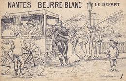 Nantes Beurre-Blanc - Le Départ (service Pour Vadrouilles) - Humour