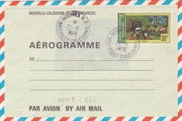 "NOUVELLE CALEDONIE ENTIER AEROGRAMME 30f "" LE PILOU "" - Cote 85€ - New Caledonia"